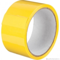 Скотч  48мм х 66м х 43мкм желтый