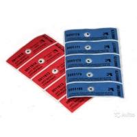 Пломбировочные наклейки (Тип-ПС антимагнит)25х60 AGI-1