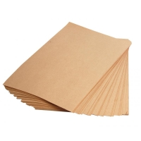 Крафт бумага в листах, 420*350 мм, 1000 шт. (40гр/м)