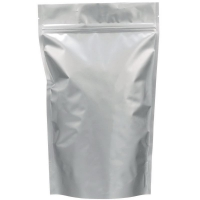 Пакет дой-пак зип-лок металлизированный, серебряный, 210*50*330 мм