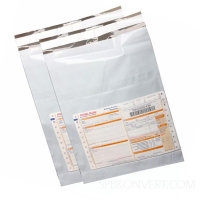 Курьер-пакет без печати 600х800мм с карманом.